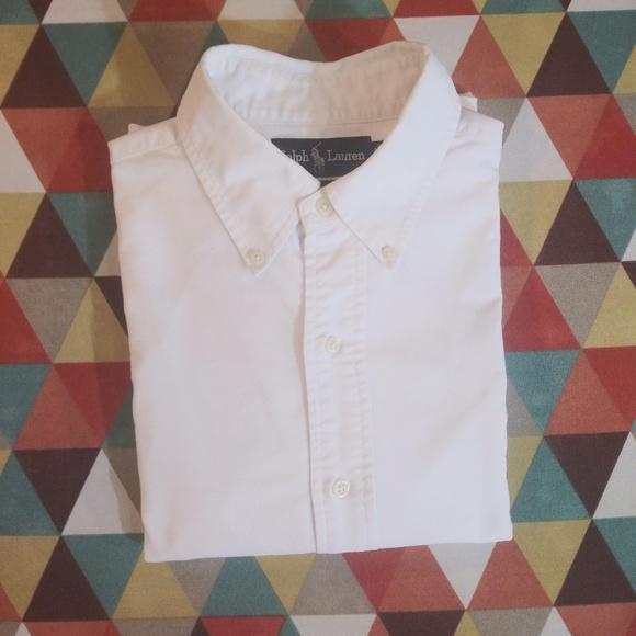 Ralph Lauren Other - Ralph Lauren Yarmouth 100% Cotton Oxford White
